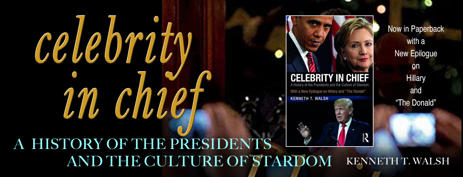 Celebrity in Chief a book by Kenneth T. Walsh.  A history of the presidents and the culture of stardom.